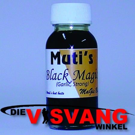 MaGic Baits Muti - Black Magic Garlic Strong